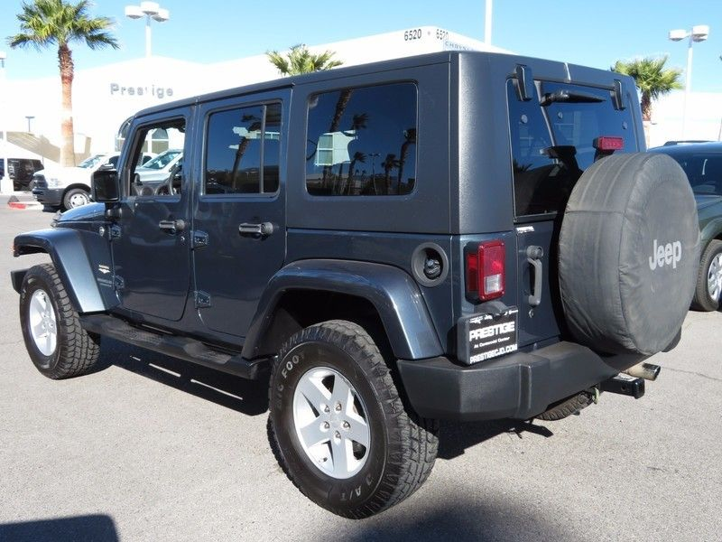 2007 Jeep Wrangler 4WD 4dr Unlimited Sahara - 17104136 - 6