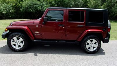 2007 Jeep Wrangler 4WD 4dr Unlimited Sahara SUV