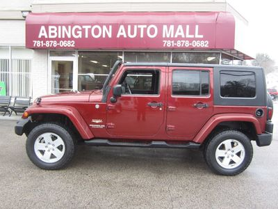 2007 Jeep Wrangler  4X4 RED ROCK CRYSTAL PEARL... SUV