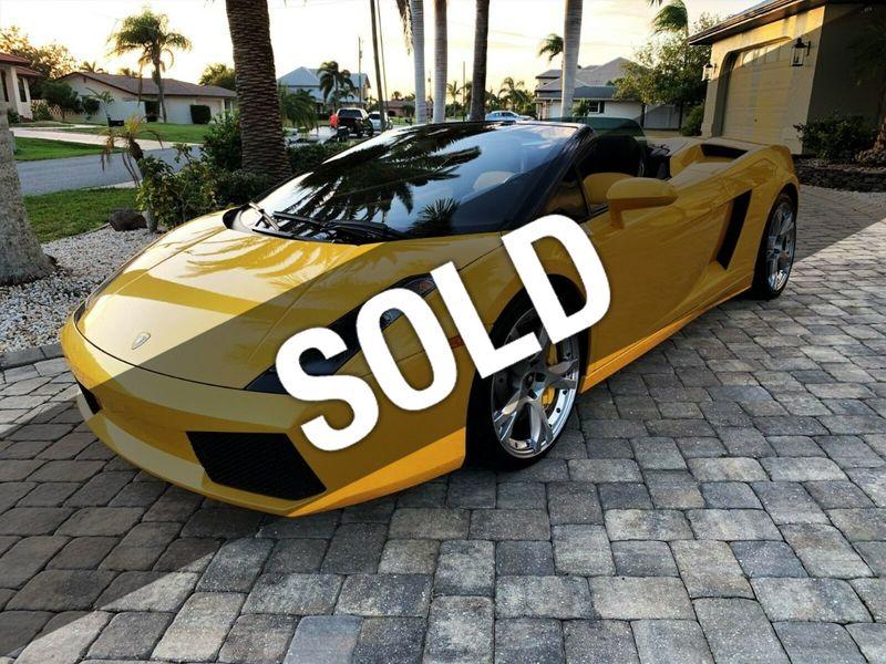 2007 Lamborghini Gallardo 2dr Convertible - 14905654 - 0