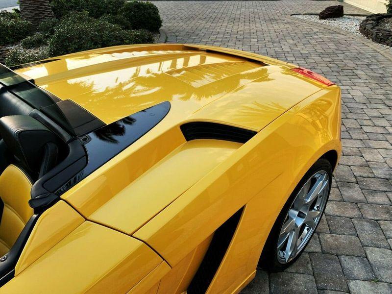 2007 Lamborghini Gallardo 2dr Convertible - 14905654 - 10