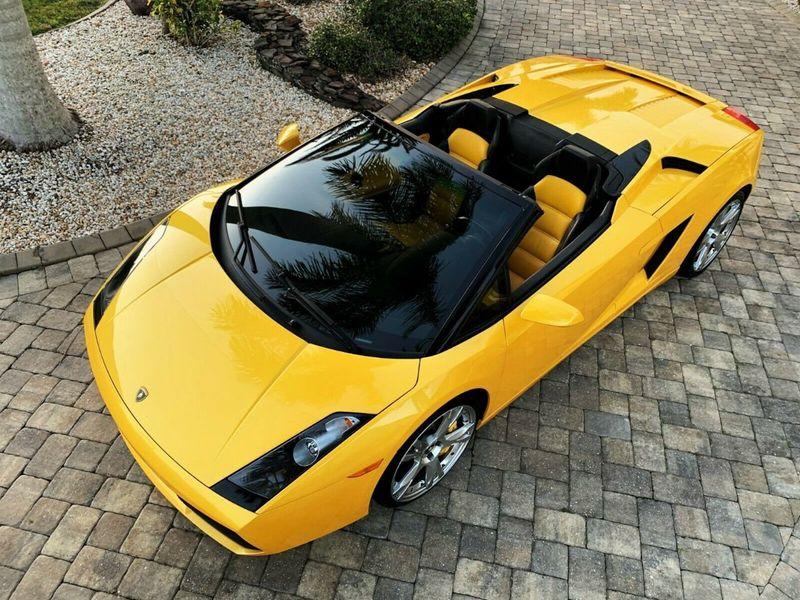 2007 Lamborghini Gallardo 2dr Convertible - 14905654 - 6