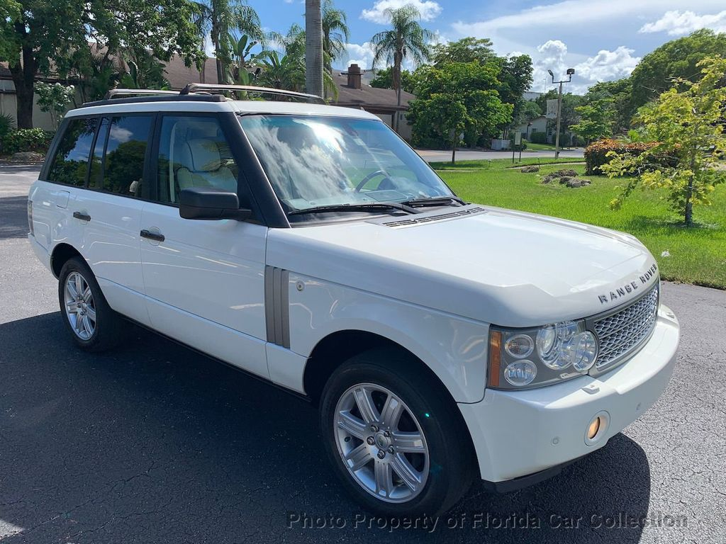 2007 Land Rover Range Rover HSE 4WD Luxury - 20935489 - 1