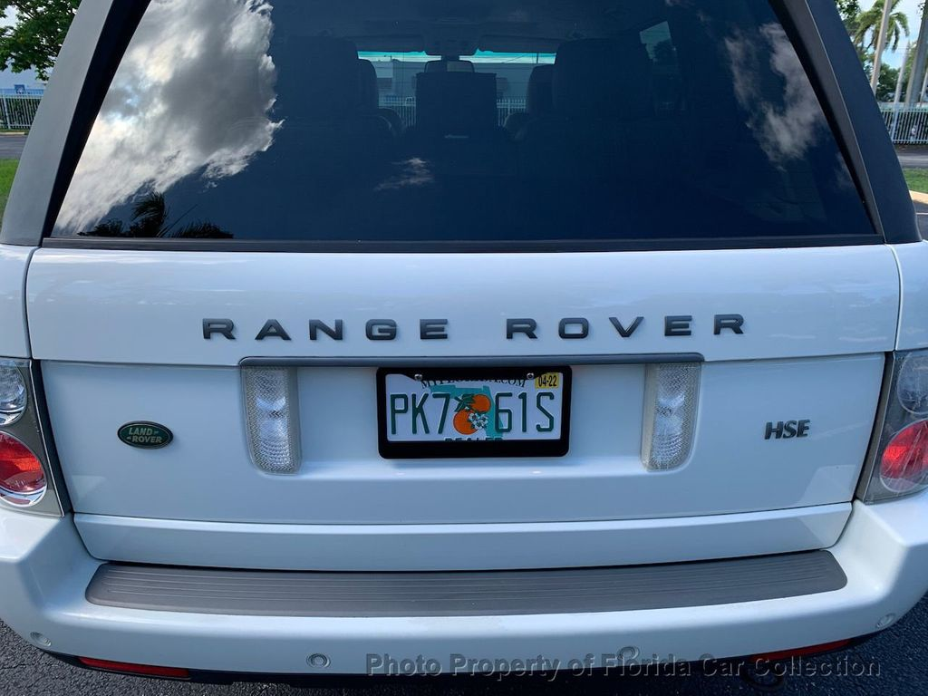 2007 Land Rover Range Rover HSE 4WD Luxury - 20935489 - 25