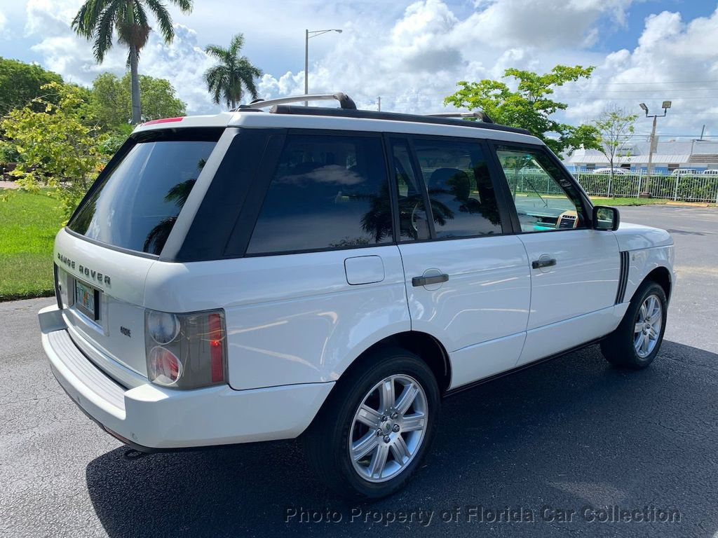2007 Land Rover Range Rover HSE 4WD Luxury - 20935489 - 3