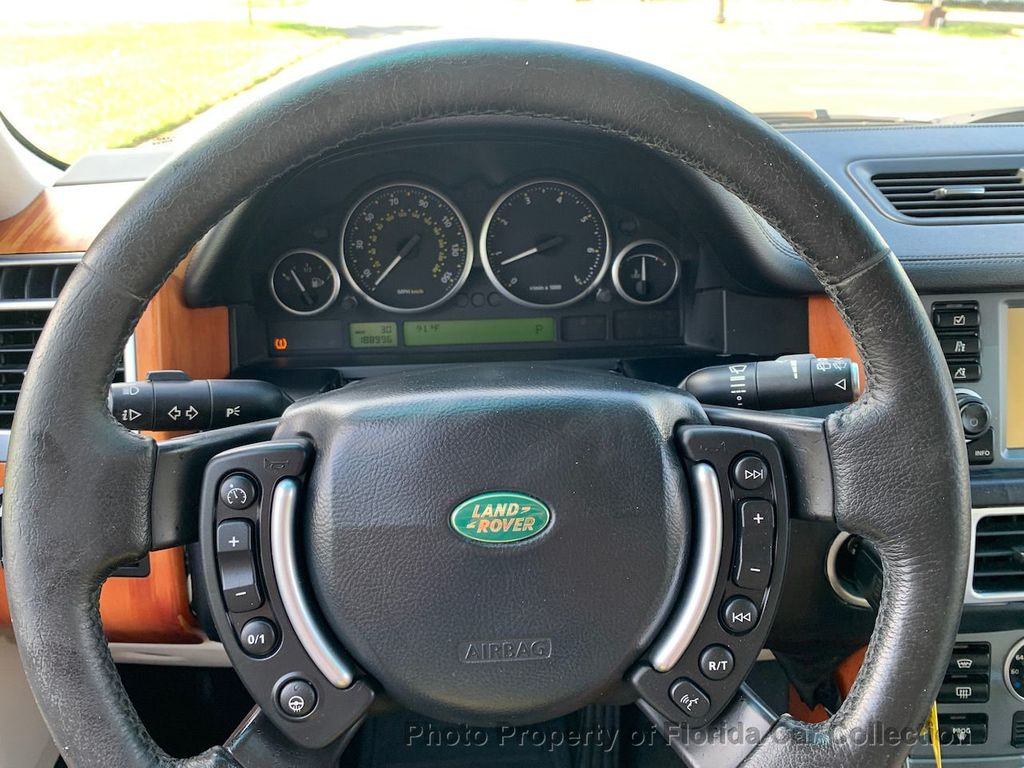 2007 Land Rover Range Rover HSE 4WD Luxury - 20935489 - 40