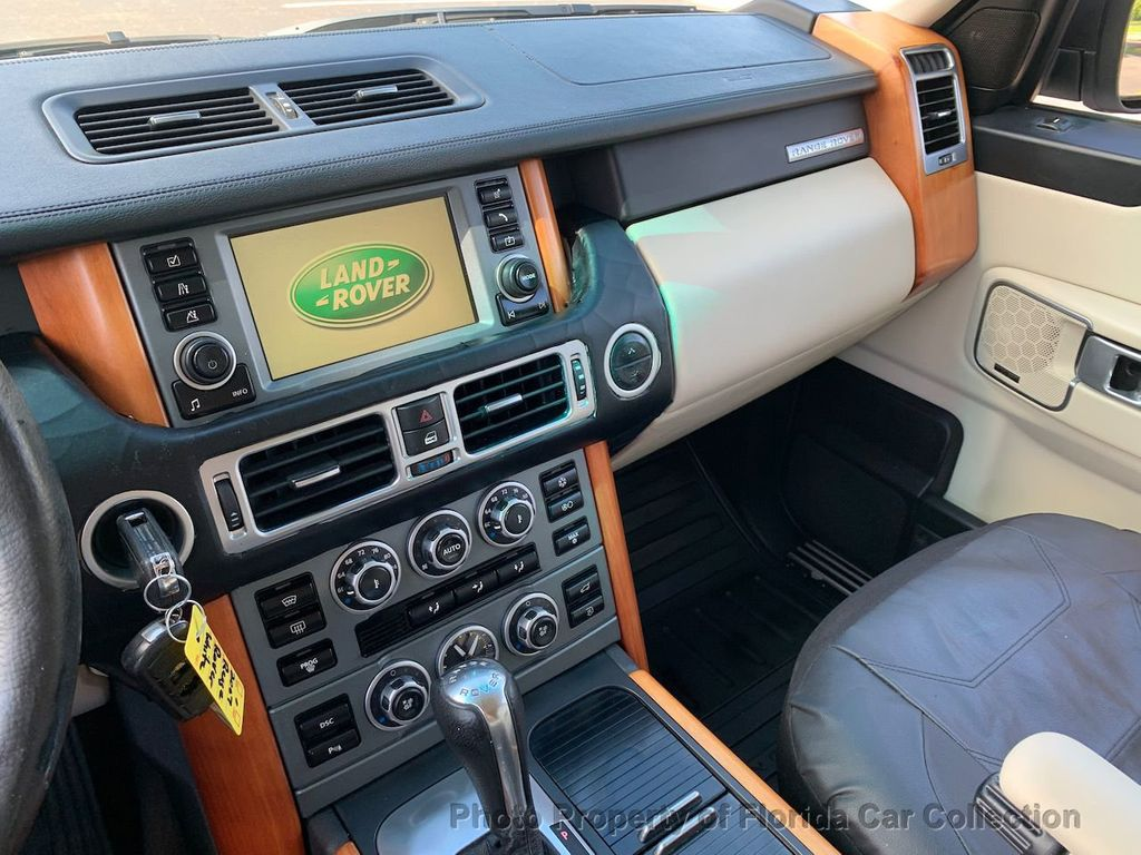 2007 Land Rover Range Rover HSE 4WD Luxury - 20935489 - 43