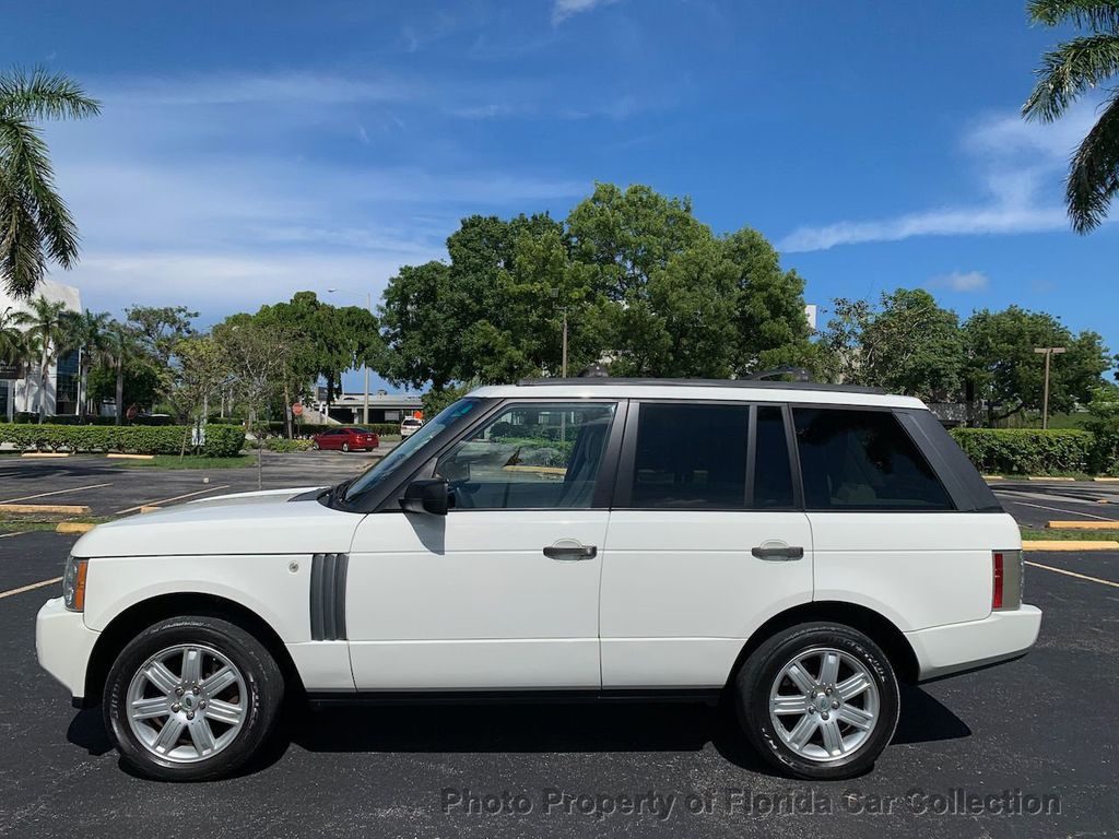 2007 Land Rover Range Rover HSE 4WD Luxury - 20935489 - 4