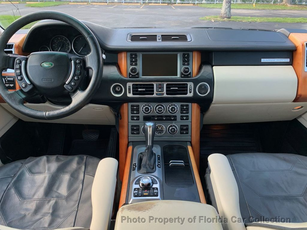 2007 Land Rover Range Rover HSE 4WD Luxury - 20935489 - 6