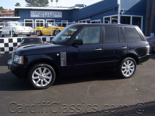 2007 used land rover range rover supercharged at cardiff. Black Bedroom Furniture Sets. Home Design Ideas