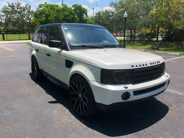 2007 Land Rover Range Rover Sport 4WD 4dr HSE - Click to see full-size photo viewer