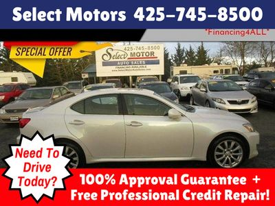 2006 Used Lexus IS 250 4dr Sport Sedan AWD Automatic at Select