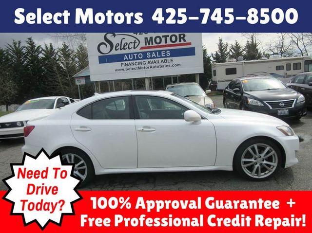 2007 Lexus IS 250 4dr Sport Sedan Automatic RWD Sedan for Sale Lynnwood, WA  - $9,988 - Motorcar com