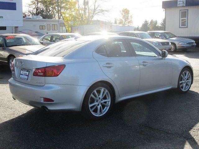 2007 Lexus IS 250 4dr Sport Sedan Automatic RWD Sedan for Sale Lynnwood, WA  - $10,988 - Motorcar com