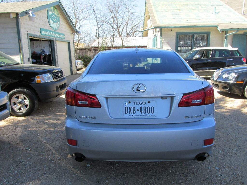 2007 Lexus IS 250  Sedan - JTHBK262475034137 - 2