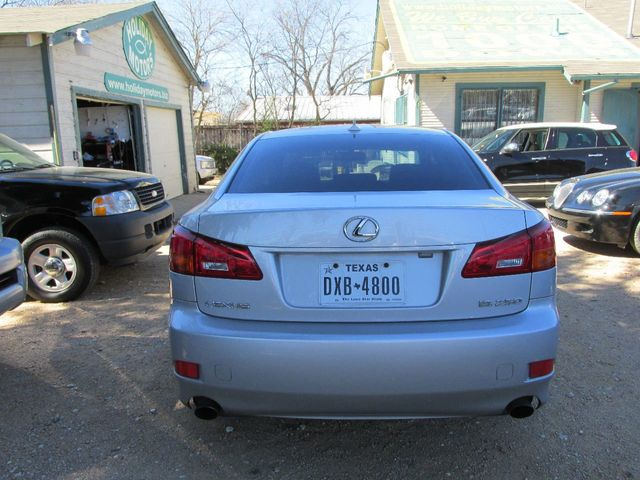 2007 Lexus IS 250 Sedan   JTHBK262475034137   2