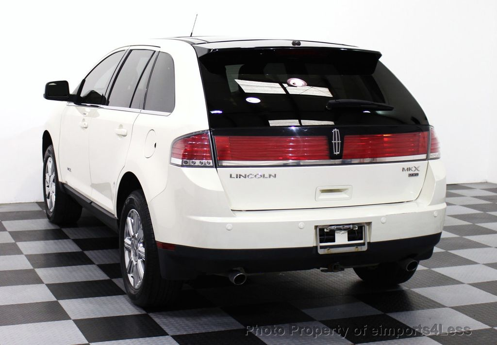 2007 used lincoln mkx mkx awd ultimate elite navigation. Black Bedroom Furniture Sets. Home Design Ideas