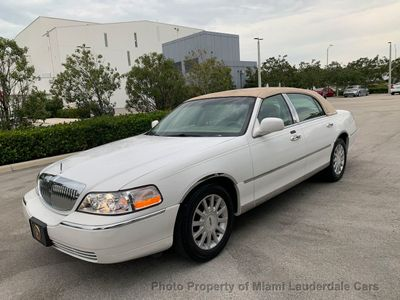Used Lincoln Town Car At Miami Lauderdale Cars Serving Pompano Beach Fl