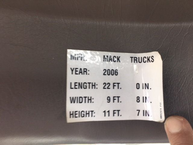 2007 Mack VISION 613 CXN TANDEM AXLE TRACTOR - 18706728 - 34