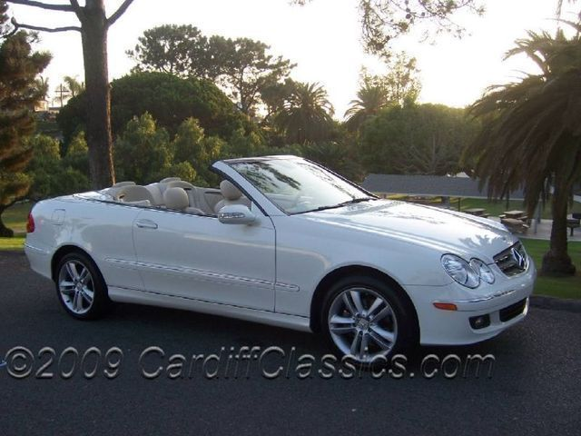 2007 Mercedes Benz CLK Class Cabriolet   Click To See Full Size Photo