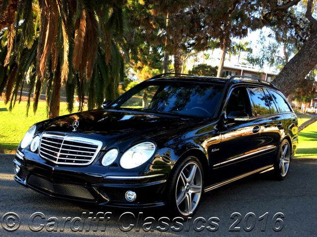 2007 used mercedes benz e63 amg wagon at cardiff classics. Black Bedroom Furniture Sets. Home Design Ideas