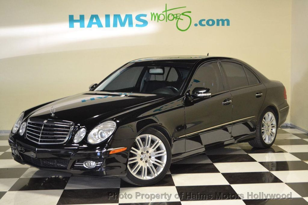 2007 used mercedes benz e class e350 4dr sedan 3 5l rwd at haims motors serving fort lauderdale. Black Bedroom Furniture Sets. Home Design Ideas