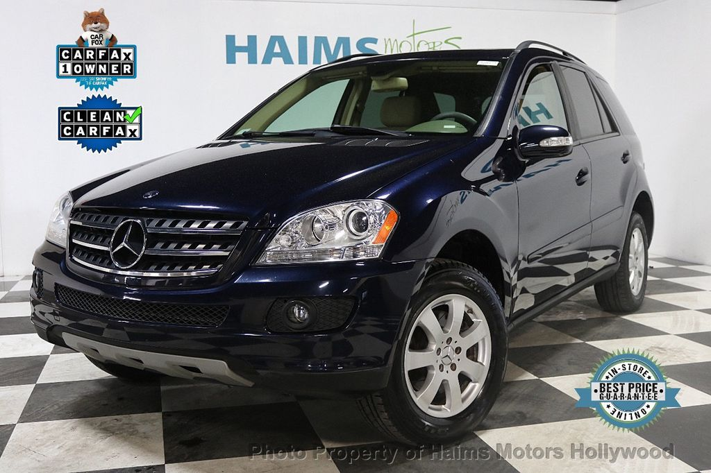 2007 Used Mercedes Benz M Class Ml350 4matic 4dr 3 5l At