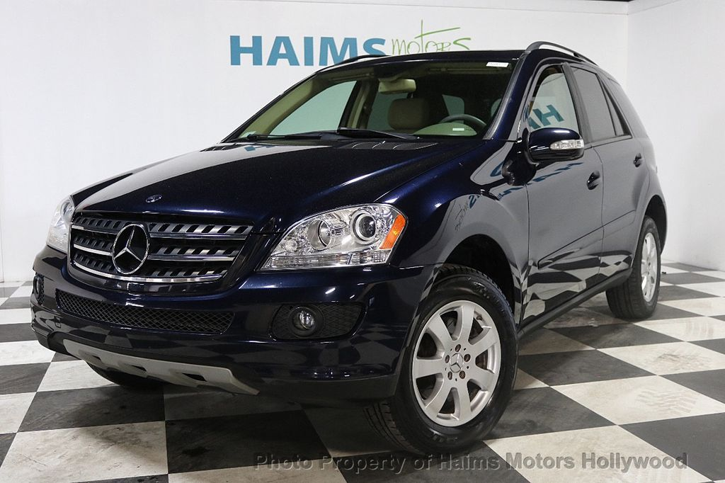 2007 used mercedes benz m class ml350 4matic 4dr 3 5l at haims motors serving fort lauderdale. Black Bedroom Furniture Sets. Home Design Ideas