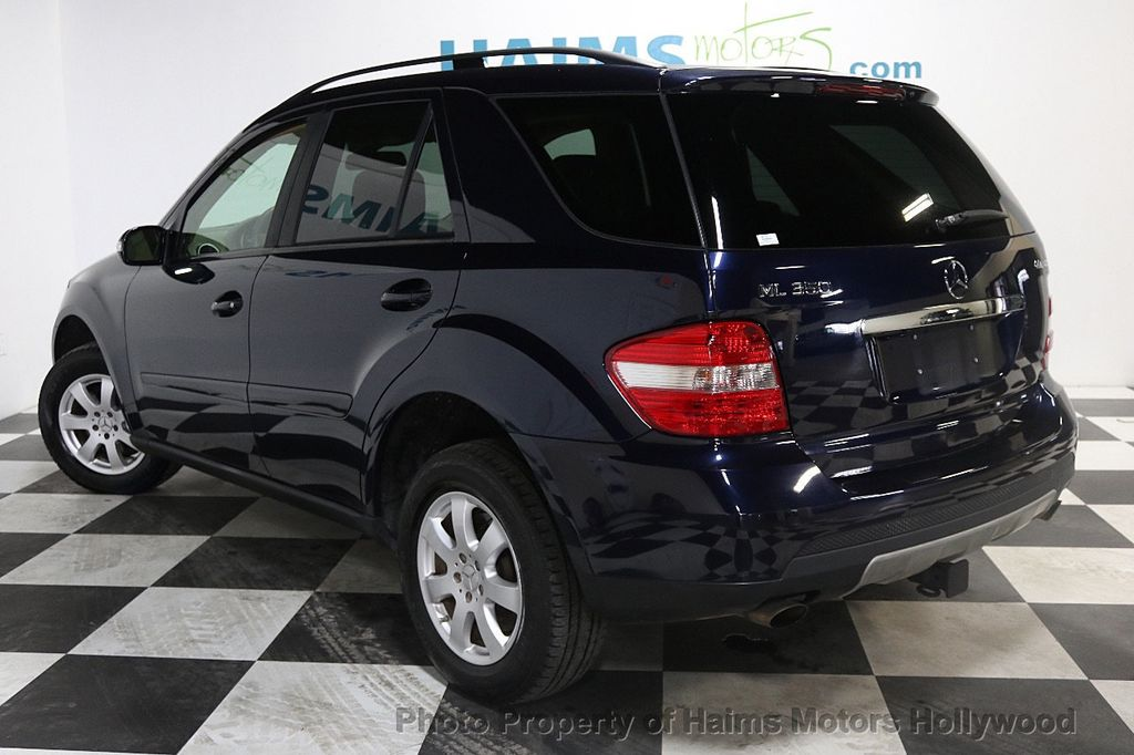 2007 used mercedes benz m class ml350 4matic 4dr 3 5l at haims motors ft lauderdale serving. Black Bedroom Furniture Sets. Home Design Ideas