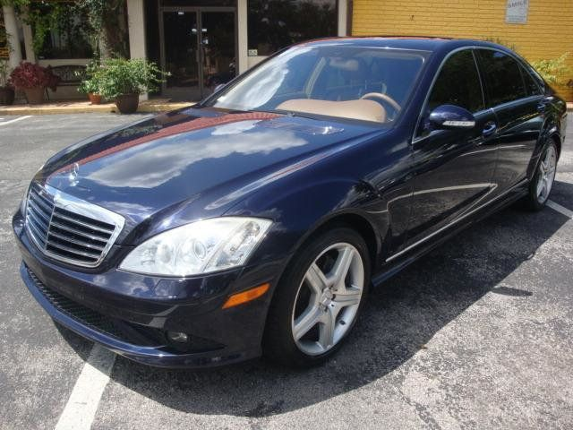 2007 Used Mercedes Benz S550 4dr Sdn 5 5l V8 Amg Sport At