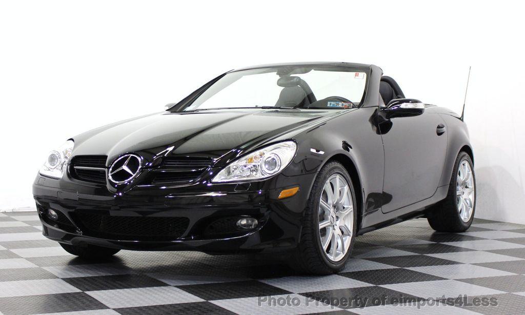 2007 used mercedes benz slk certified slk350 convertible for Mercedes benz certified used cars
