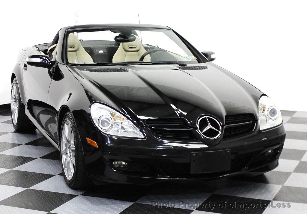 2007 used mercedes benz slk slk350 roadster convertible at eimports4less serving doylestown. Black Bedroom Furniture Sets. Home Design Ideas