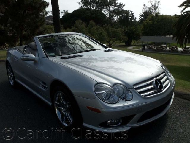 2007 Mercedes-Benz SL-Class SL550 - Click to see full-size photo viewer