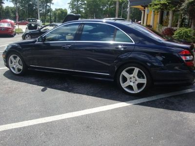 2007 Mercedes-Benz  S550 4dr Sdn 5.5L V8 RWD AMG SPORT - Click to see full-size photo viewer