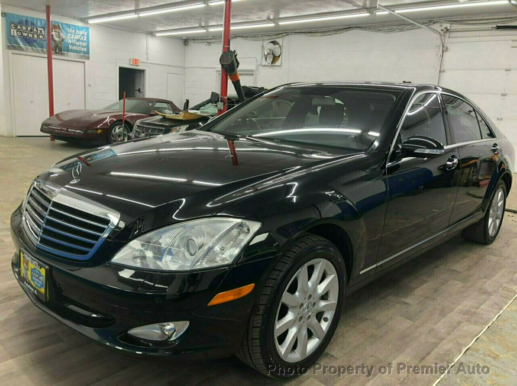 mercedes s class benz at sedan used detail