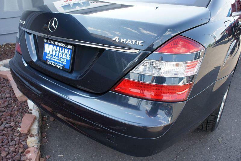 2007 Mercedes Benz S Class S550 4dr Sedan 5.5L V8 4MATIC   17851155