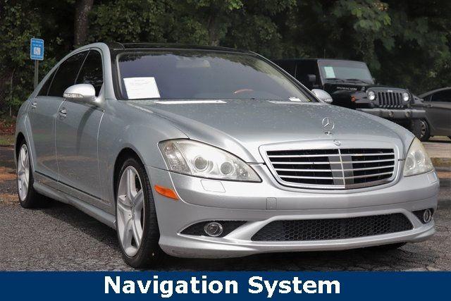 2007 Used Mercedes-Benz S-Class S550 4dr Sedan 5 5L V8 4MATIC at Marietta  Auto Sales, GA, IID 19165168