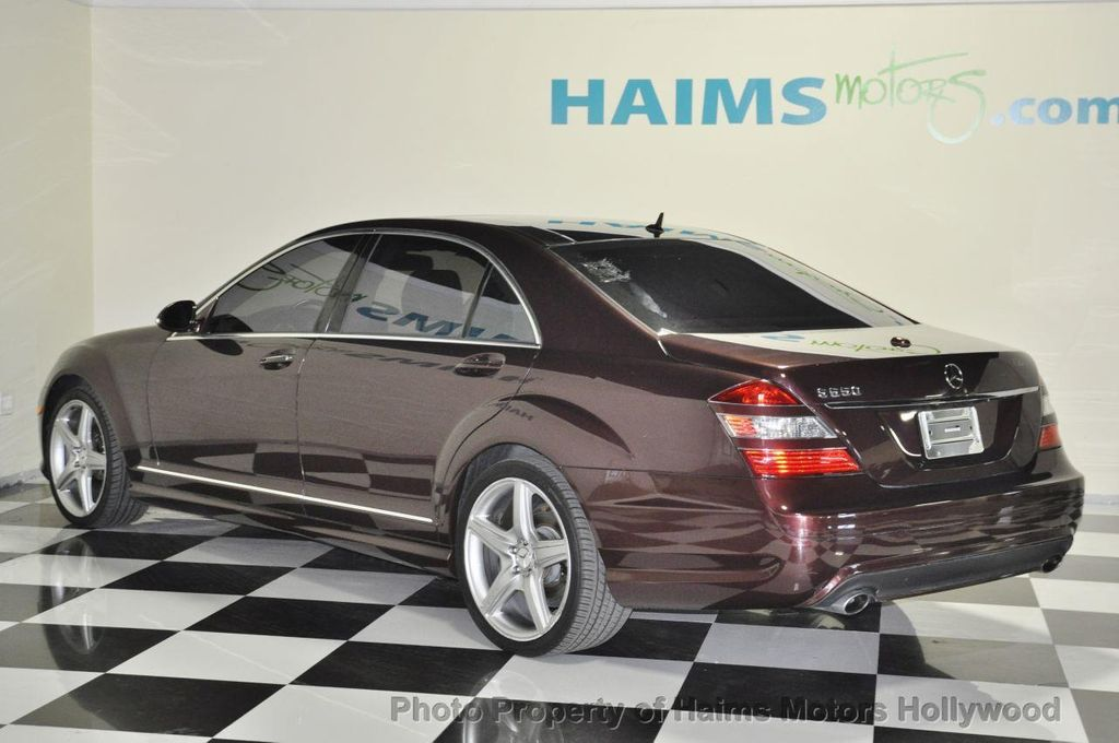 2007 used mercedes-benz s-class s550 4dr sedan 5.5l v8 rwd at haims