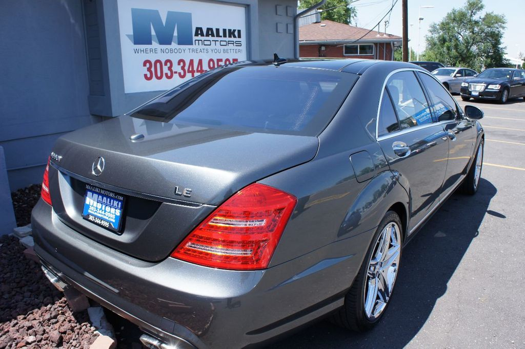 2007 Mercedes-Benz S-Class S550 4dr Sedan 5.5L V8 RWD - 17857566 - 3