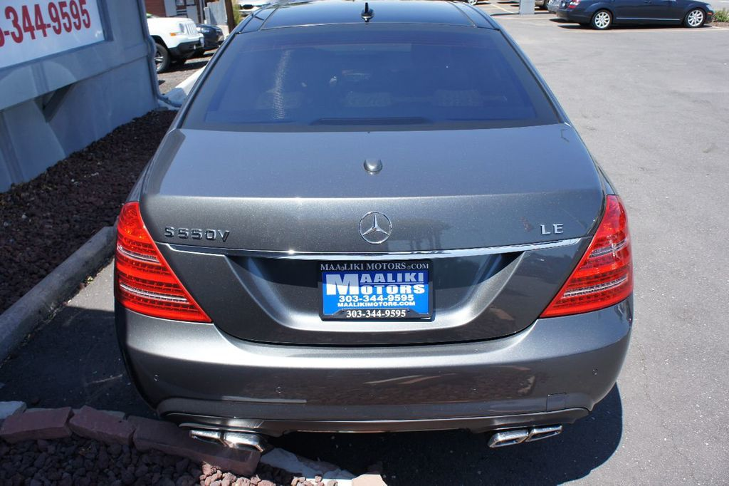 2007 Mercedes-Benz S-Class S550 4dr Sedan 5.5L V8 RWD - 17857566 - 4