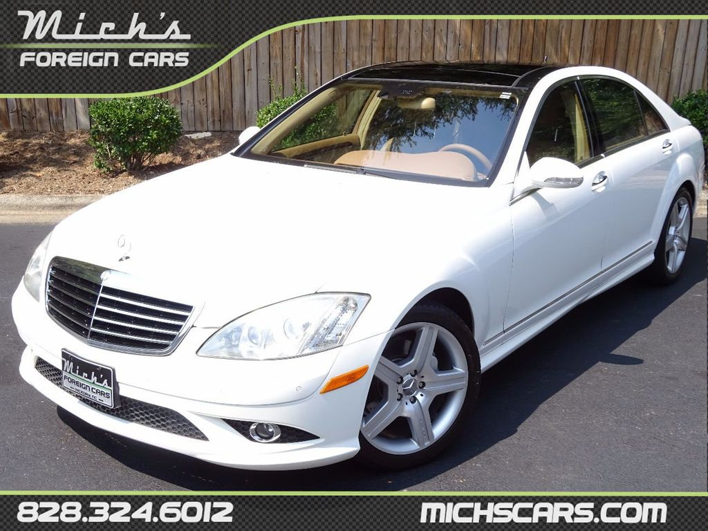 2007 used mercedes benz s class s550 4dr sedan 5 5l v8 rwd at michs foreign cars serving hickory. Black Bedroom Furniture Sets. Home Design Ideas
