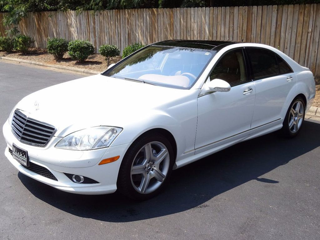 2007 Used Mercedes-Benz S-Class S550 4dr Sedan 5.5L V8 RWD at Michs Foreign Cars Serving Hickory ...