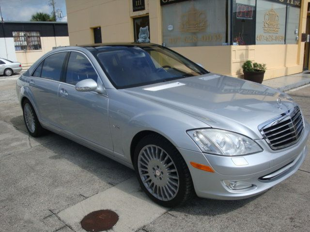 2007 Mercedes-Benz S-Class S600 4dr Sedan 5.5L V12 RWD