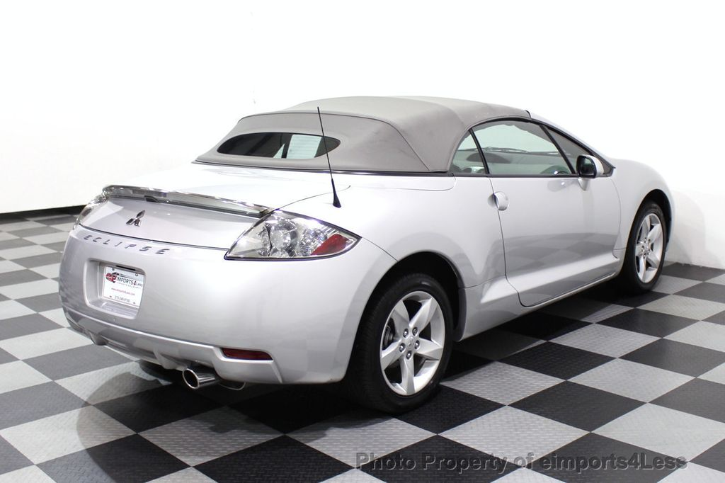 2007 Mitsubishi Eclipse CERTIFIED Spyder GS 5 SPEED MANUAL Rockford Fosgate - 18306798 - 17