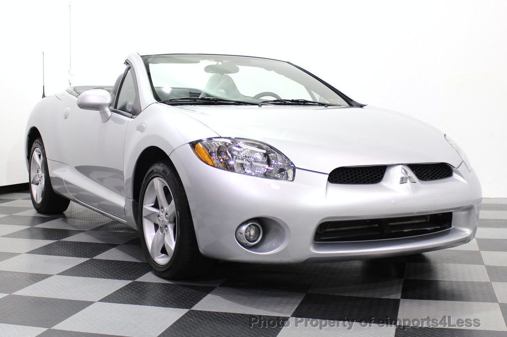 2007 Mitsubishi Eclipse CERTIFIED Spyder GS 5 SPEED MANUAL Rockford Fosgate - 18306798 - 1