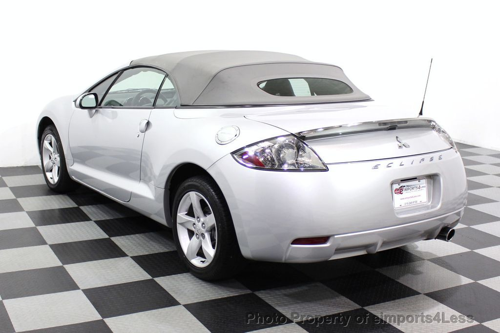 2007 Mitsubishi Eclipse CERTIFIED Spyder GS 5 SPEED MANUAL Rockford Fosgate - 18306798 - 2