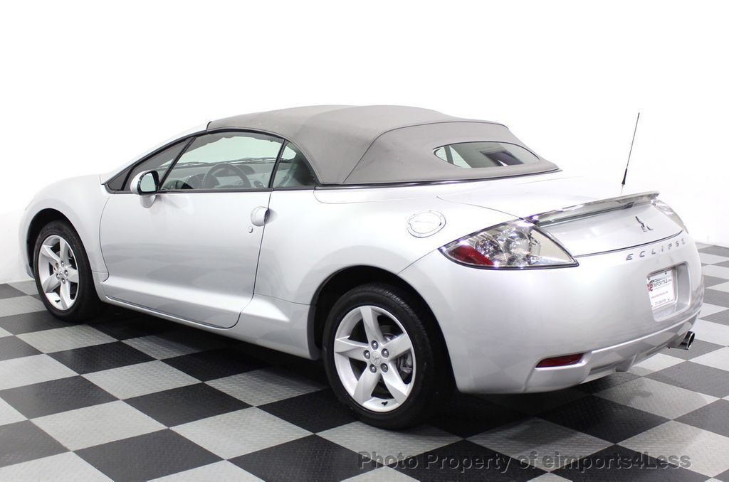 2007 Mitsubishi Eclipse CERTIFIED Spyder GS 5 SPEED MANUAL Rockford Fosgate - 18306798 - 29