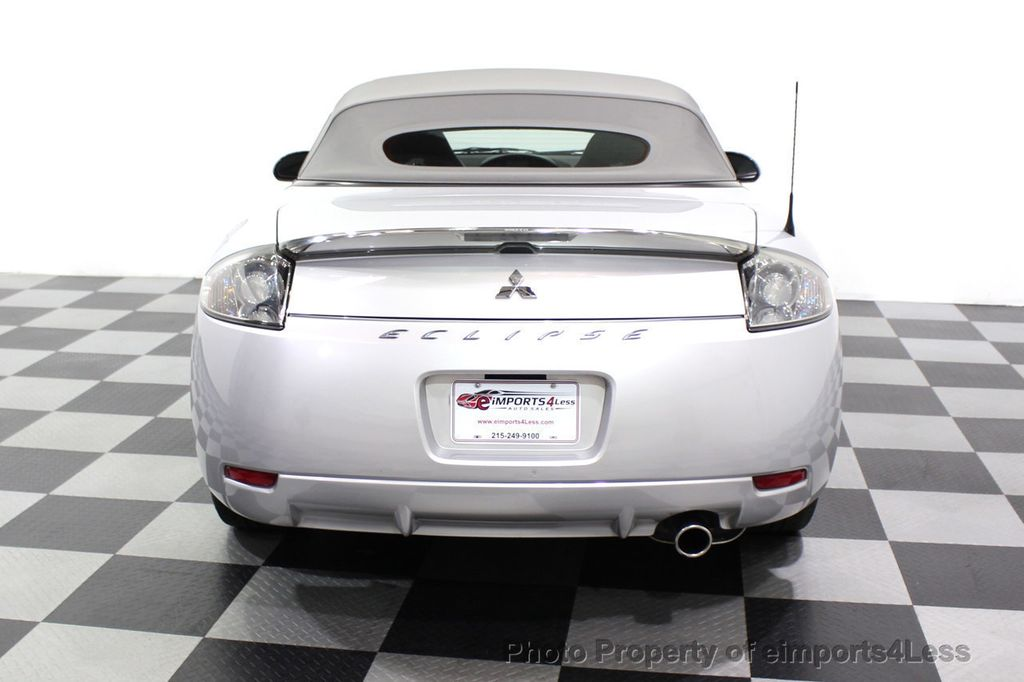 2007 Mitsubishi Eclipse CERTIFIED Spyder GS 5 SPEED MANUAL Rockford Fosgate - 18306798 - 30