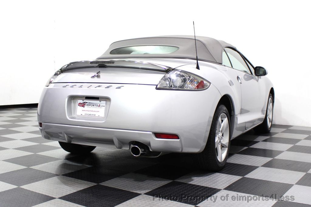 2007 Mitsubishi Eclipse CERTIFIED Spyder GS 5 SPEED MANUAL Rockford Fosgate - 18306798 - 31
