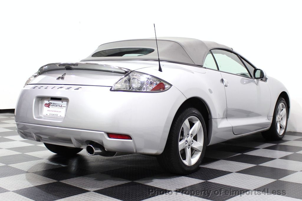 2007 Mitsubishi Eclipse CERTIFIED Spyder GS 5 SPEED MANUAL Rockford Fosgate - 18306798 - 3